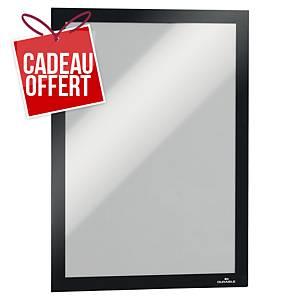 Cadre d affichage Durable Duraframe - A4 - adhésif - noir - paquet de 10
