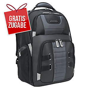 Rucksack Targus TSB957GL, New Drifter, für Notebooks, 15 - 17,3 Zoll, schwarz