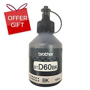BROTHER BT-D60BK INK JET TANK BLACK