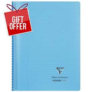 Clairefontaine Koverbook A4+ Blu
