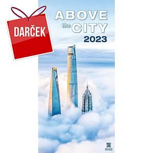 All About Cities - mesačné medzinárodné kalendárium, 14 listov, 31,5 x 63 cm