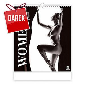 Women - měsíční mezinárodní kalendárium, 14 listů, 45 x 52 cm