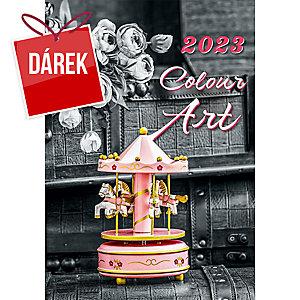 Gardens - měsíční mezinárodní kalendárium, 14 listů + samolepky, 30 x 30 cm