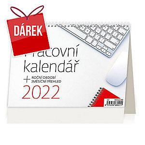 Pracovní kalendář - české týdenní sloupcové kalendárium, 54 + 2 strany