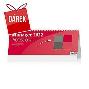 Manager Professional - české týdenní sloupcové kalendárium + Aj, 64 + 2 strany