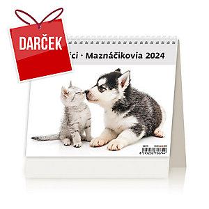 MiniMax Maznáčikovia - české/slovenské týždenné riadkové kalendárium, 56+2 strán