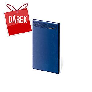 Diář týdenní kapesní Gommato - modrý, 8 x 15 cm, 128 stran