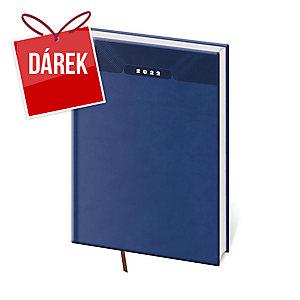 Diář denní A4 Print - modrý, 21 x 29,7 cm, 400 stran