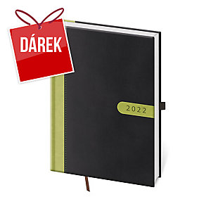 Diář týdenní A5 Vario Black - 14,3 x 20,5 cm, 128 stran