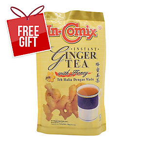 In-Comix Instant Ginger Tea - Pack of 18