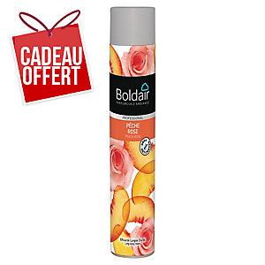 Désodorisant Boldair - pêche rose - aérosol de 750 ml