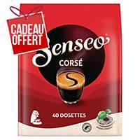 Café Senseo Corsé - paquet de 40 dosettes