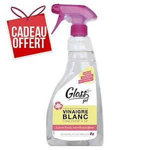 Vinaigre blanc multi-surfaces Gloss gel - parfum citron - spray de 750 ml