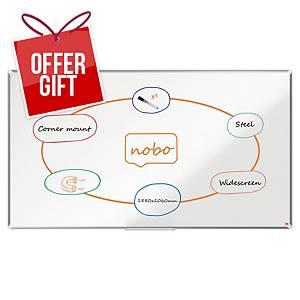 Nobo WideScreen 85 Nano Clean Magnetic Whiteboard