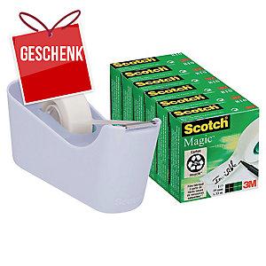 SCOTCH C 18-6L  Tischabroller blau + 6 Klebebänder