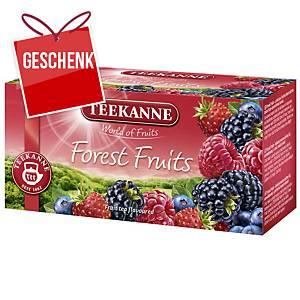 Čaj Teekanne, lesné plody, 20 Portionen