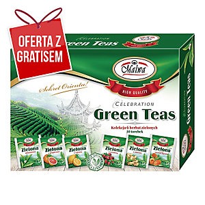Zestaw herbat zielonych Green Teas Collection, Malwa