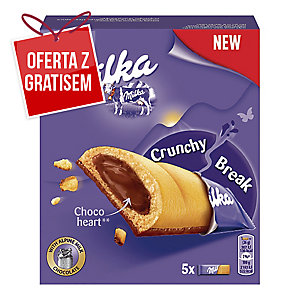 Ciastka Crunchy Break MILKA, 130 g