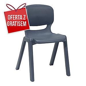 Krzesło ergonomiczne ERGOS, granat standard