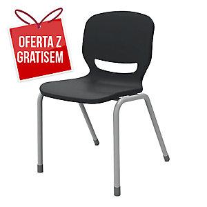 Krzesło ergonomiczne ERGOS Shell, antracyt