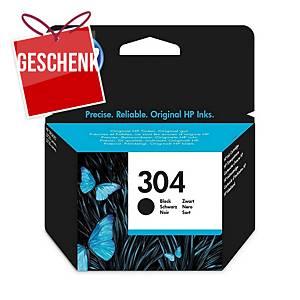 HP 304 (N9K06AE) Tintenpatrone, schwarz