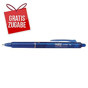 Tintenroller Pilot Frixion Clicker, Strichstärke: 1 mm, blau