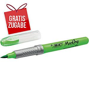 Textmarker BIC 949868 Flex, Strichstärke: 1,6-3,4 mm, grün