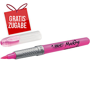 Textmarker BIC 949894 Flex, Strichstärke: 1,6-3,4 mm, pink