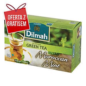 Herbata zielona DILMAH Moroccan Mint, 20 torebek