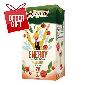 PK20 BIG-ACTIVE GREEN ENERGY TEA 1,5G