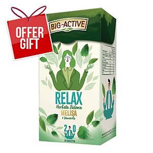 PK20 BIG-ACTIVE GREEN TEA RELAX 1,5G