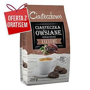 Ciastka SANTE Listeczki owsiane kakaowe, 250 g