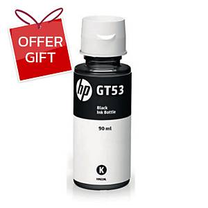 HP GT53 M0H57AA ORIGINAL INK BOTTLE BLACK