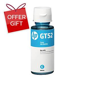 HP GT52 M0H54AA ORIGINAL INK BOTTLE CYAN