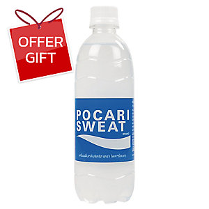 POCARI SWEAT ELECTROLYTE BEVERAGE 500 MILLIMETER - PACK OF 24