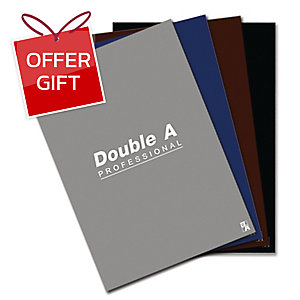 DOUBLE A REPORT PAD 70GRAMS 50SHEETS ASSORTED COLOURS INTENSED