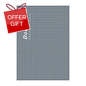 DOUBLE A PROFESSIONAL NOTEBOOK A5 70GRAMS 40SHEETS GREY