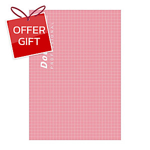DOUBLE A PROFESSIONAL NOTEBOOK A5 70GRAMS 40SHEETS PINK