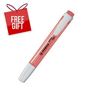Stabilo Swing Cool Highlighter Red - Box of 10