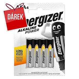 Baterie Energizer Alkaline Power, AAA / LR03, 4 ks v balení
