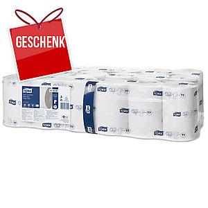 Tork Mid-Size Premium hülsenloses Toilettenpapier, 2-lagig