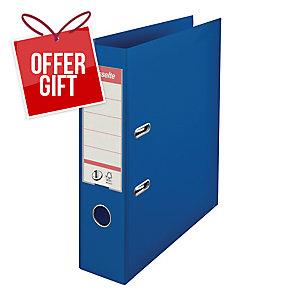 Esselte No.1 Power Blue A4 Lever Arch File