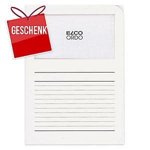 Organisationsmappe Elco Ordo Classico 29489, bedruckt, weiss, Pk. à 100 Stk.