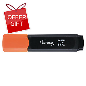 LYRECO HIGHLIGHTER - ORANGE