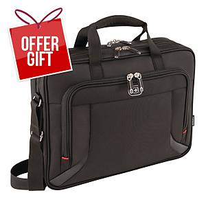 WENGER PROSPECTUS L/TOP BAG 16   BLK