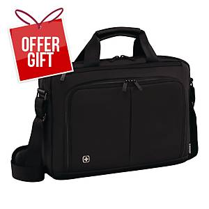 WENGER SOURCE L/TOP BAG 16   BLK