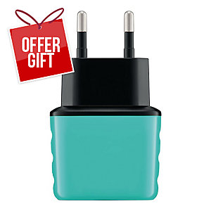 EXC SHINE WALL CHARGER 2XUSB 3.1A MINT