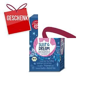 Teekanne Bio Organics Tee, Schlaf und Träume, 20 Portionen
