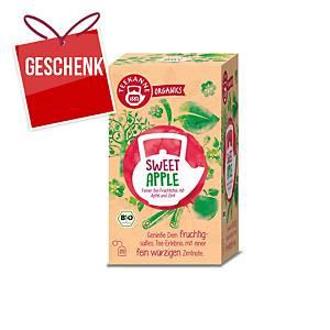 Teekanne Bio Organics Tee, süßer Apfel, 20 Portionen