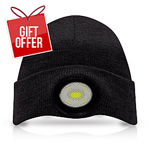 Unilite Be-02+ Beenie With Led 150Lm Black